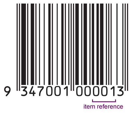 Item reference numbers