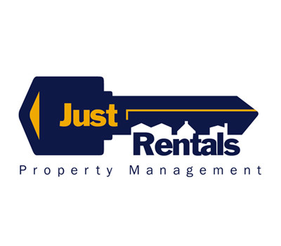 Just Rentals logo design