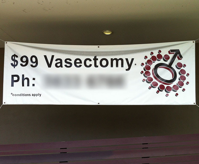 Quality convenience or price $99 vasectomy