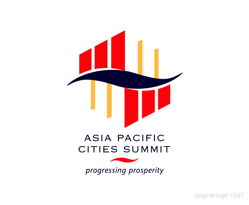 Asia Pacific Cities Summit original logo 1997
